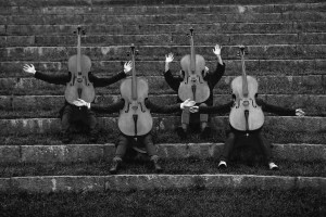 Cello+String+Quartet+grappig