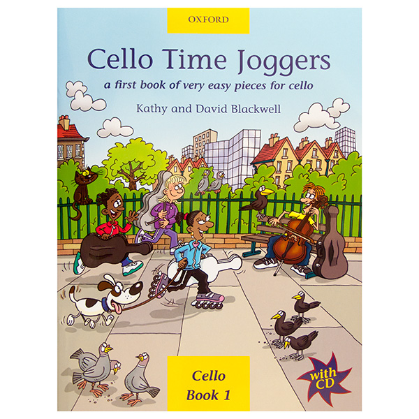 Cello Time Joggers Book 1