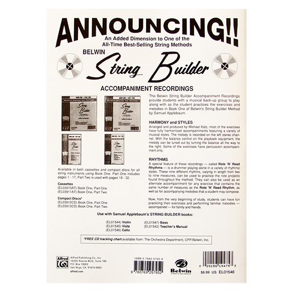 String Builder S.Applebaum book one