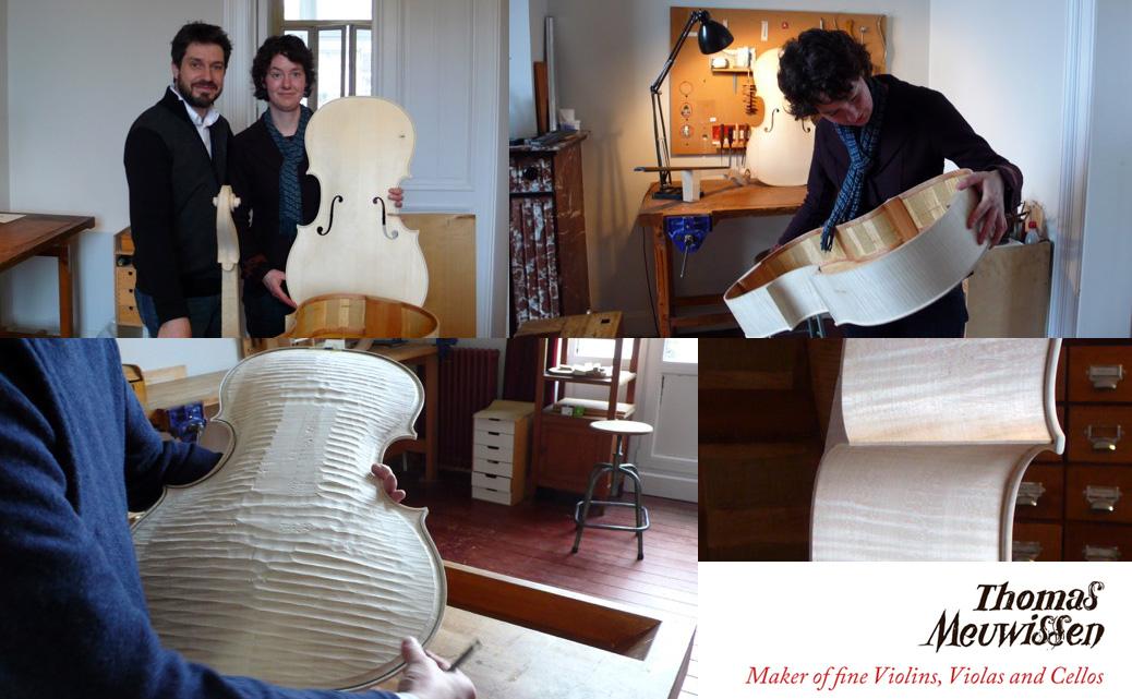 Thomas Meuwissen, luthier in Brussel
