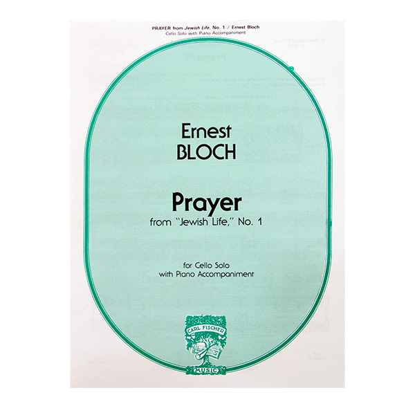 Prayer Ernest Bloch uit Jewish Life