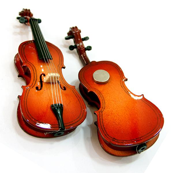miniatuur cello magneet