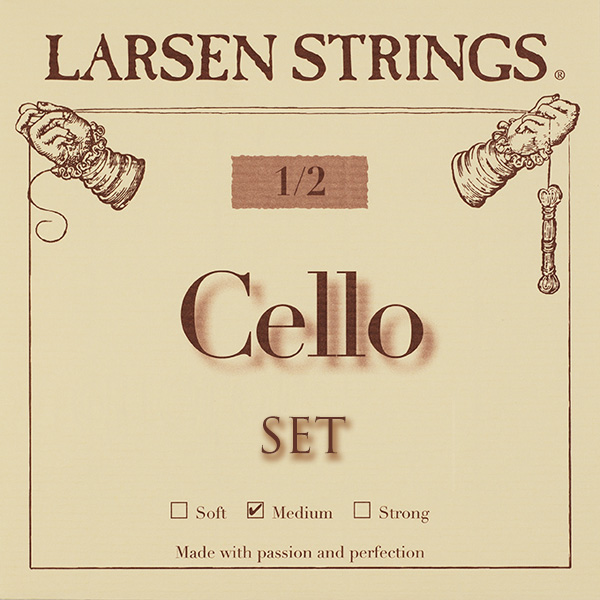 Cellosnaar Larsen 1/2 Medium set