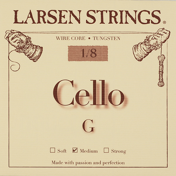 Cellosnaar Larsen 1/4 G-III Medium
