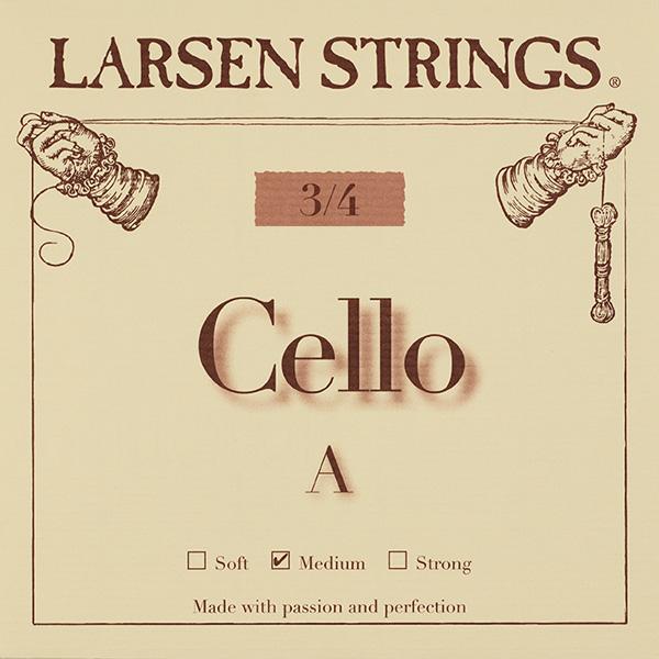Cellosnaar Larsen 3/4 A-I Medium