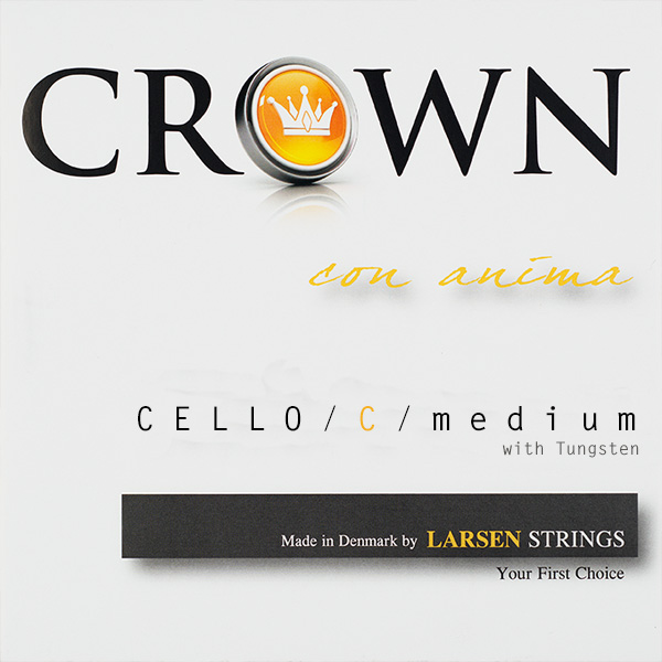 Cellosnaar Larsen Crown C-IV Medium