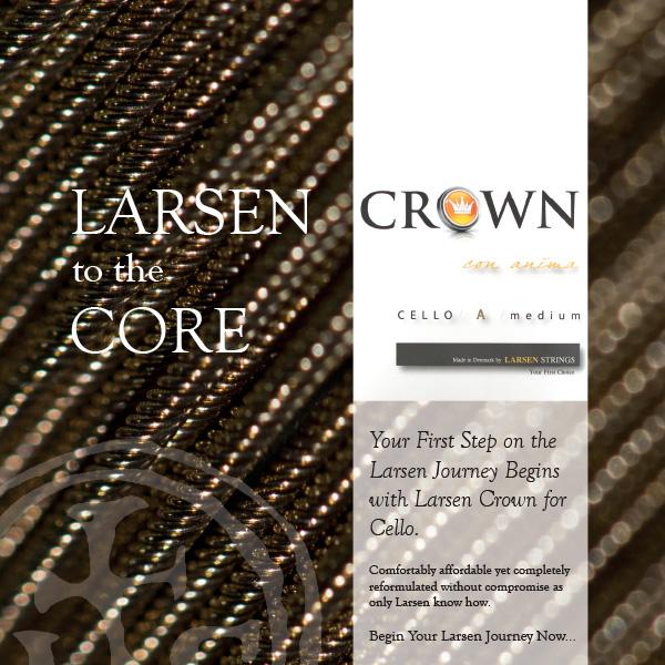 Cellosnaren Larsen Crown