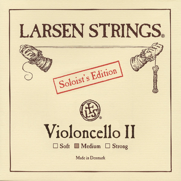 Cellosnaar Larsen Soloists' Edition D-II Medium