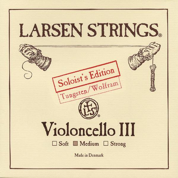 Cellosnaar Larsen Soloists' Edition G-III Medium