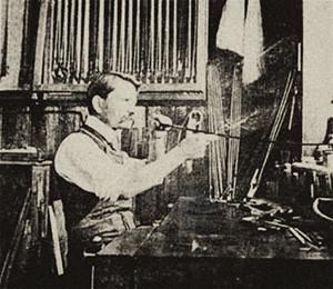 W.E. Hill & Sons strijkstokkenbouw in Londen
