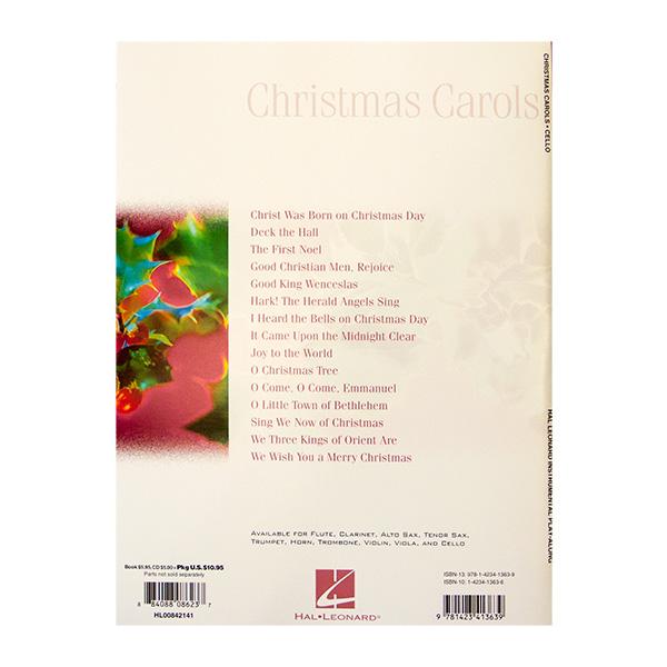 Cello Christmas Carols