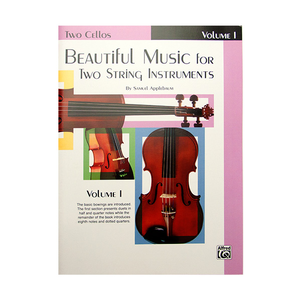 Beautiful Music for two String Instruments Volume 1 cello