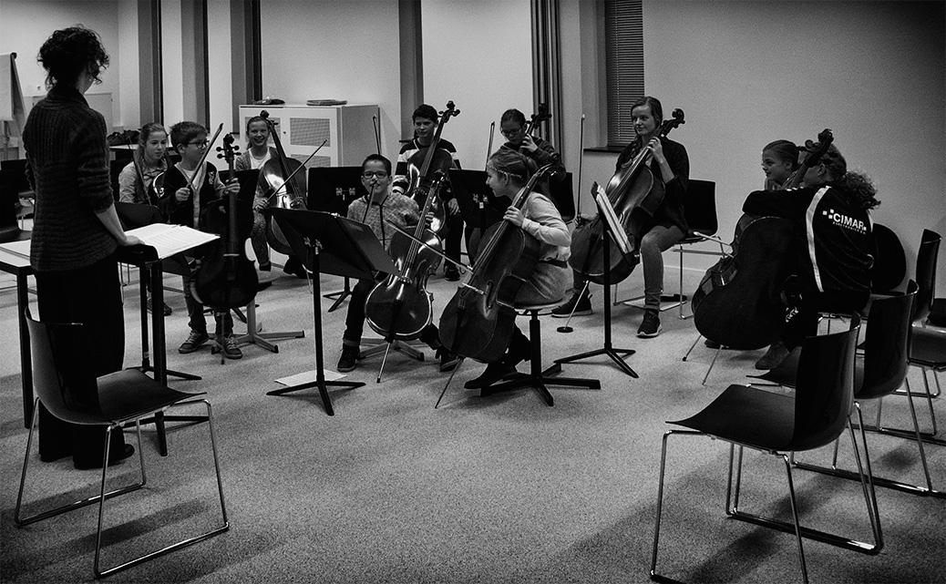 Groepsles cello Celloklas jongeren Veenendaal