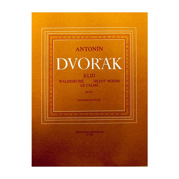 Antonin Dvorak Waldesruihe Violoncello en Piano