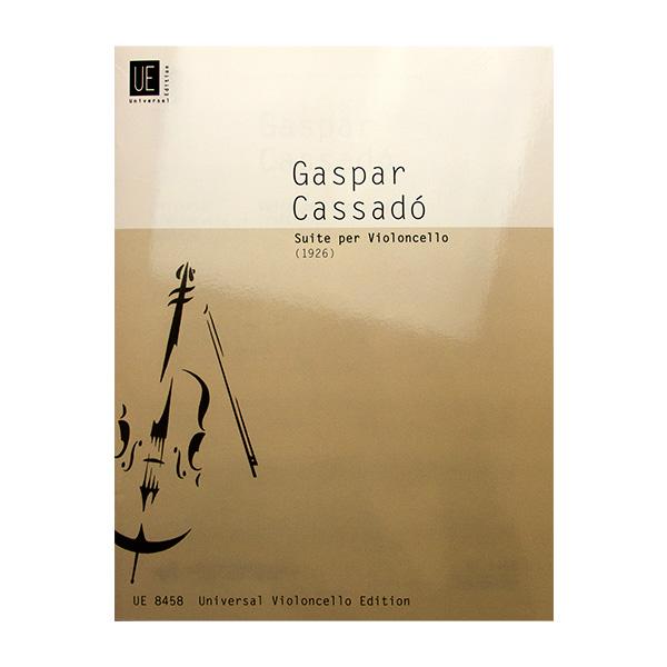 Caspar Cassadó Suite per Violoncello (1926)