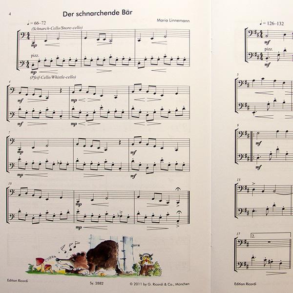 Kleine Streiche für zwei Celli (Maria Linnemann)