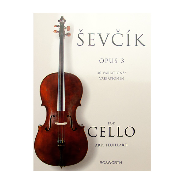 Sevcik Opus 3 40 variations for Cello (arr. Feuillard)