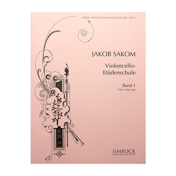 Jakob Sakom Violoncello-Etüdenschule Band 1