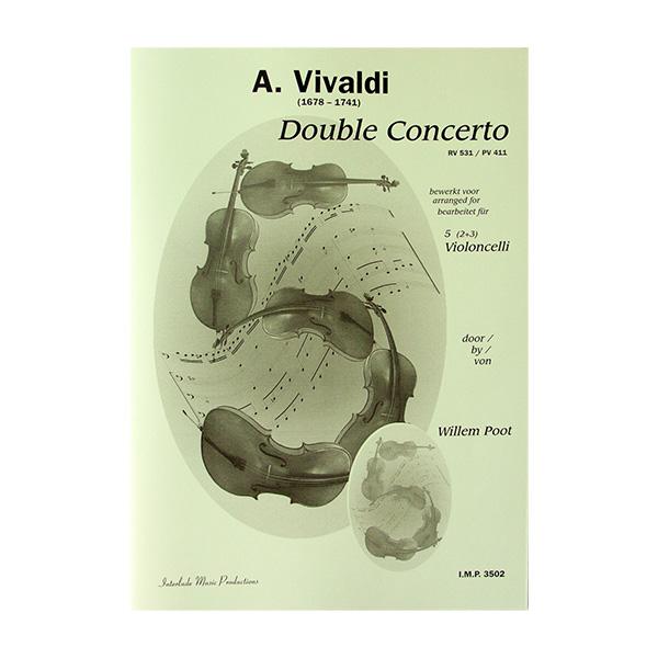 Vivaldi Dubbelconcert voor 5 celli