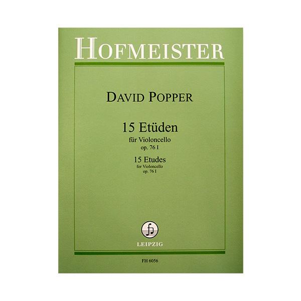 David Popper 15 Etuden fur violoncello op.76 I