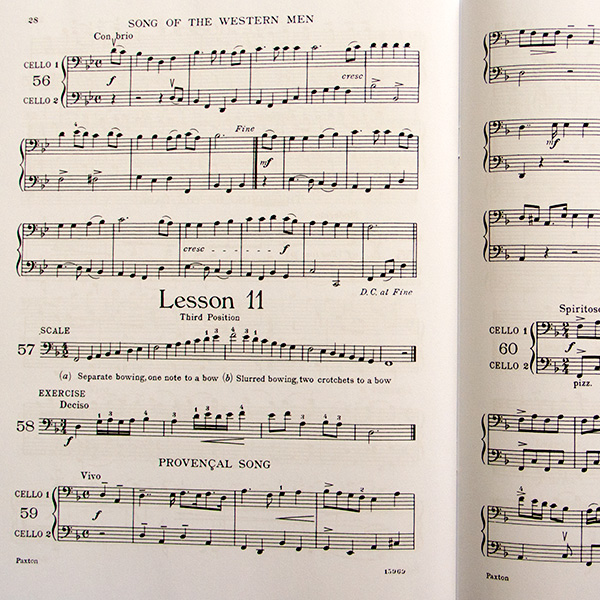The Second-Year Violoncello Method – Benoy and Burrowes