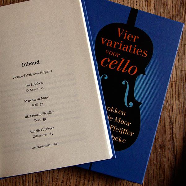 Vier variaties voor Cello inhoudsopgave