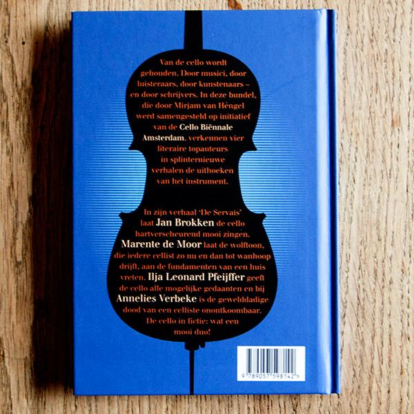 Vier variaties voor Cello achterflap