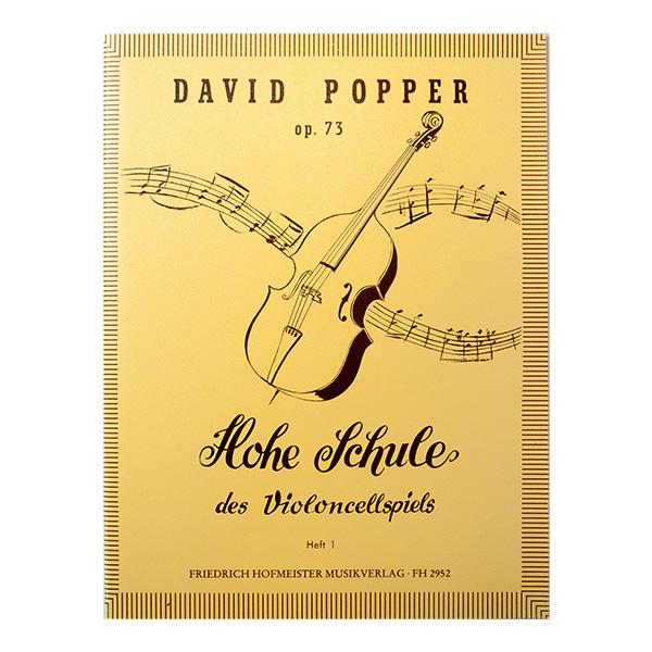 David Popper op.73 Hohe Schule des Violoncellspiels Heft 1