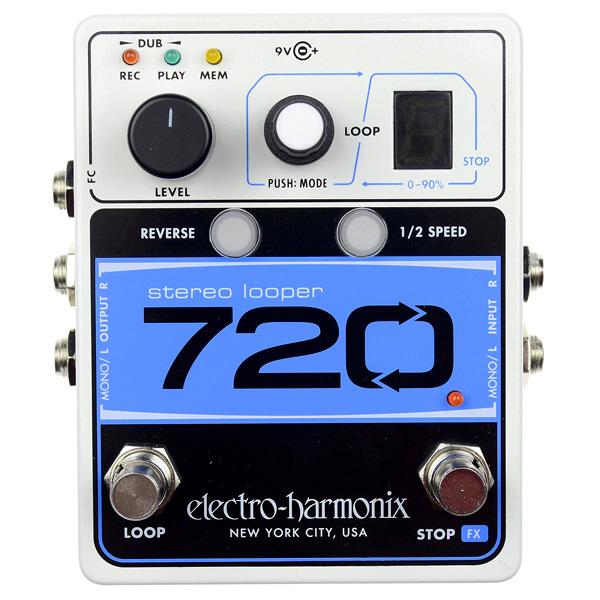 Electro-Harmonix 720 Stereo Looper voor cello