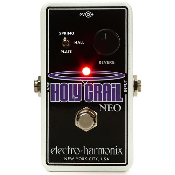 Electro-Harmonix Holy Grail Neo effectpedaal voor cello