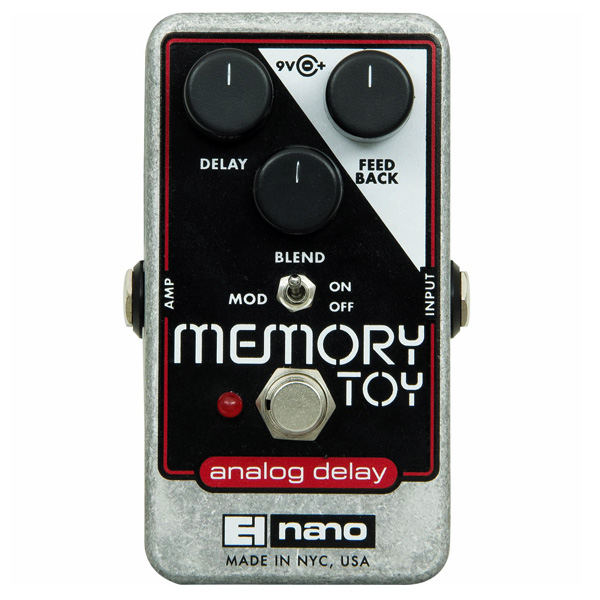 Electro-Harmonix Memory Toy delay effect voor cello