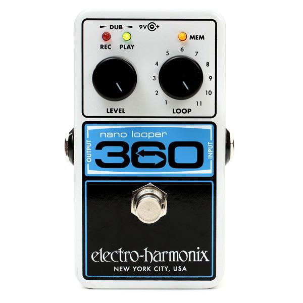 Electro-Harmonix Nano Looper 360 looppedaal voor cello