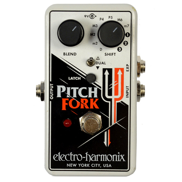 Electro-Harmonix Pitch Fork Octaver effectpedaal voor cello