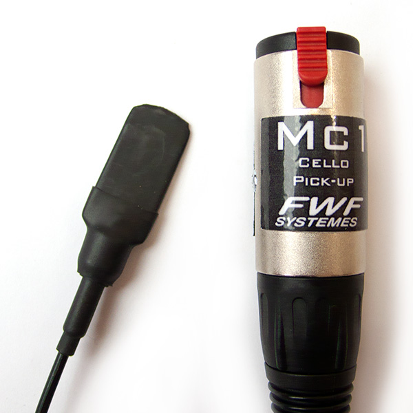 FWF MC1 Cello piezo pickup