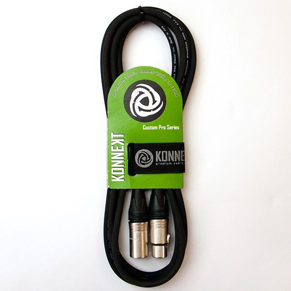 Konnekt Custom Pro Series Microfoonkabel met Neutrik connectors