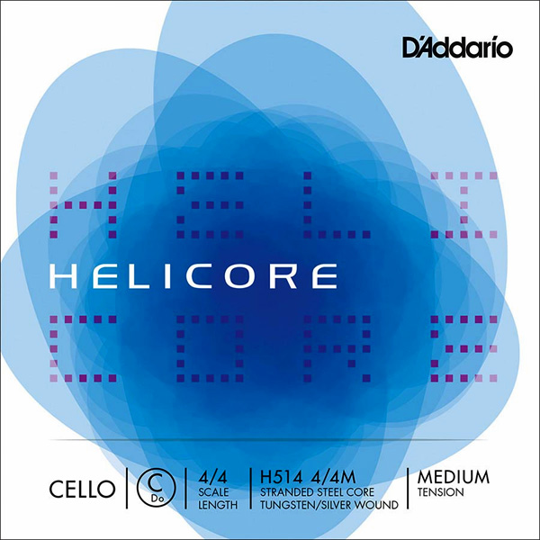 D'Addario Helicore Medium IV C cello snaren