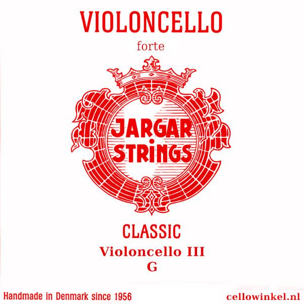 Jargar Strings Violoncello III G Classic Forte set