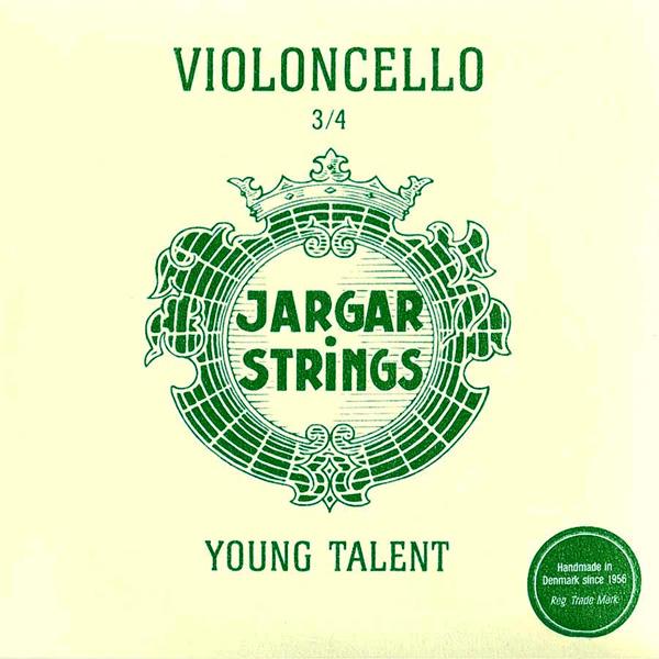 Cellosnaren Jargar Young Talent 3/4 set medium