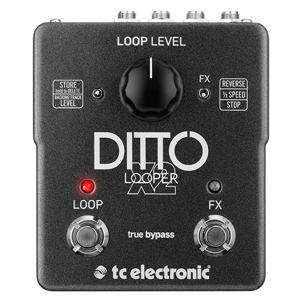 Ditto X2 Looper van TC Electronic voor cello