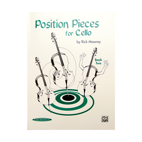 Position Pieces for Cello Book Two