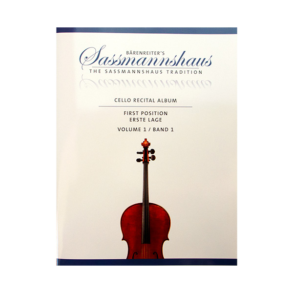 Sassmannshaus Cello Ricital Album First Position Volume 1