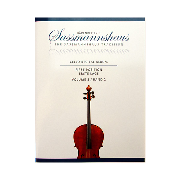 Sassmannshaus Cello recital album deel twee