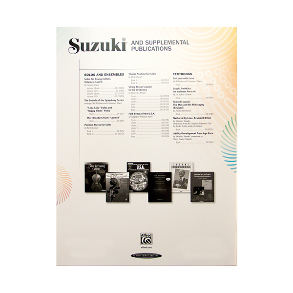 Suzuki Cello School Volume 1 revised edition