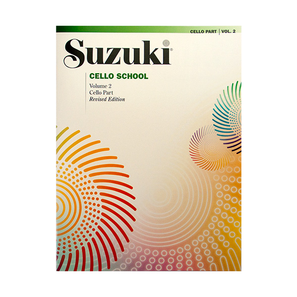 Suzuki cello school Volume 2 revised edition