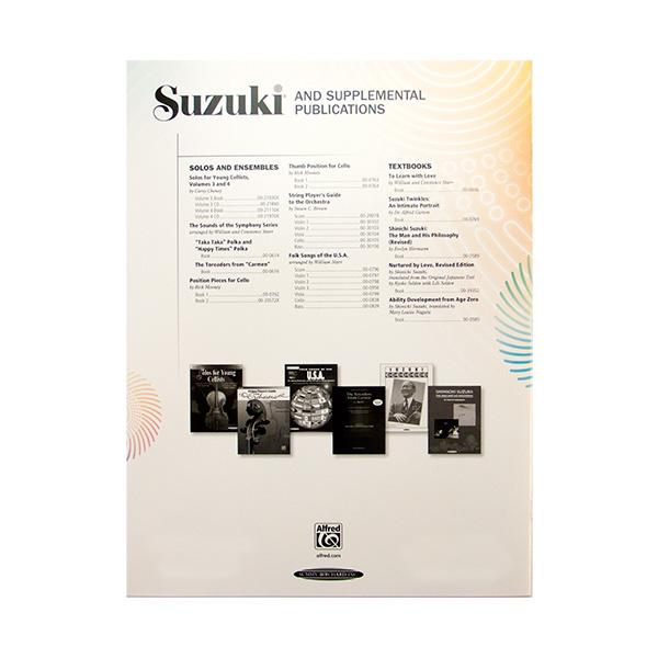 Suzuki cello school Volume 2 revised edition