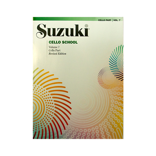 Suzuki Cello School Volume 7 Revised Edition