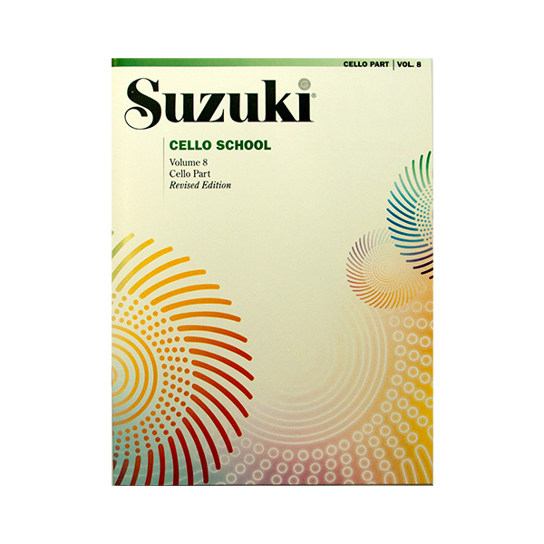 Suzuki Cello School Volume 8 Revised Edition