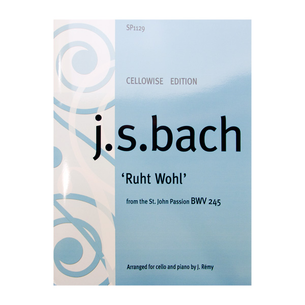 Ruht Wohl Bach voor cello en piano