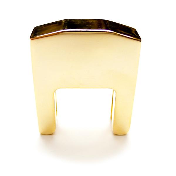 Cello sourdine metaal goudkleurig