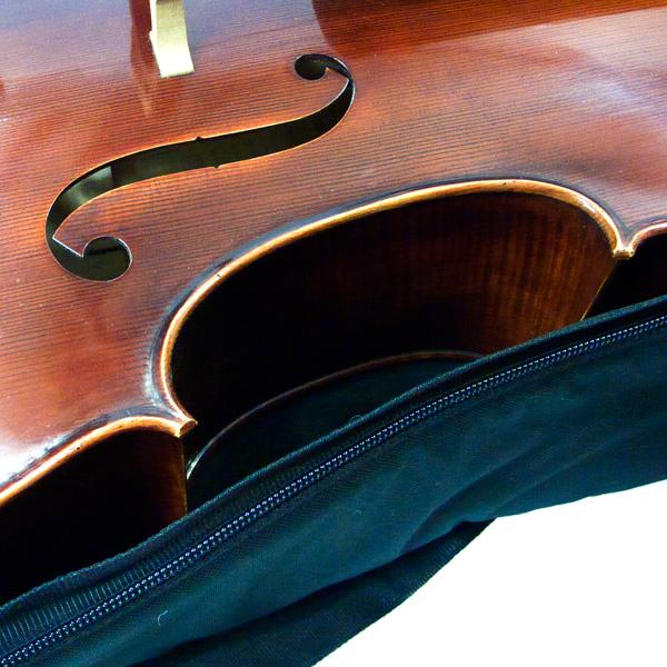 Cello hoes zwart GEWA Prestige